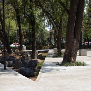 Мемориал жертвам насилия в Мехико