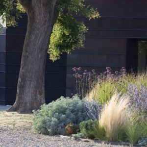 Гравий великолепен в ландшафтном дизайне