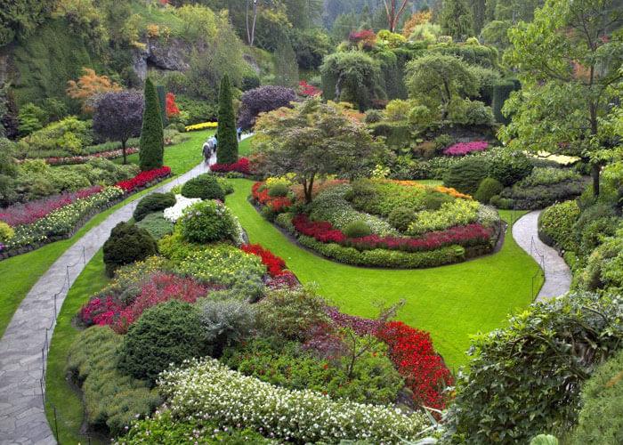 Благозвучный сад по фэн-шуй