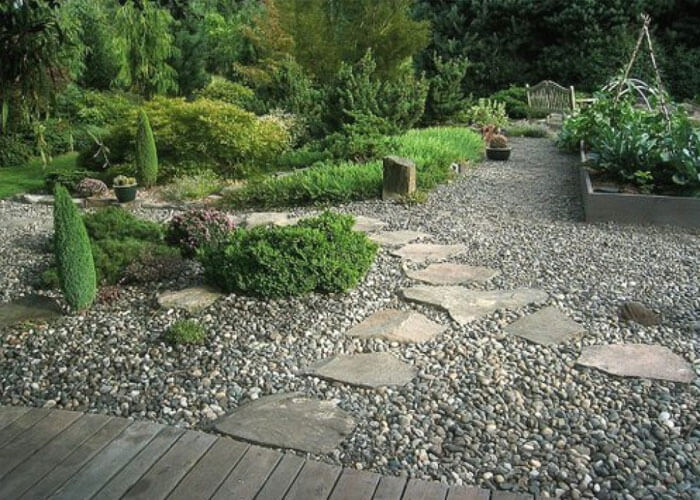 Притягательный шарм гравийного сада